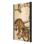 虎図, 若冲 Tiger, Jakuchu, Japan Art Stretched Canvas Prints