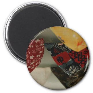 褌 Two 6 Cm Round Magnet