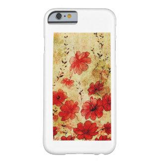 赤くグランジな花 iPhone 5 iPhone 6 Case