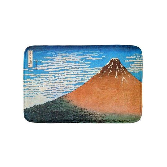 赤富士, 北斎 Red Mount Fuji, Hokusai, Ukiyo-e Bath