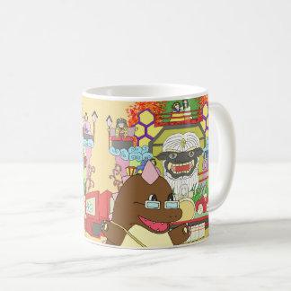 道の駅くじやませ土風館 オリジナルキャラクターどっふぅくんのマグカップ COFFEE MUG