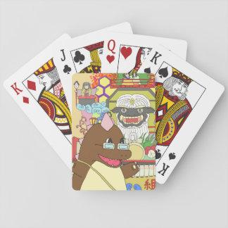 道の駅くじ やませ土風館オリジナルキャラクターどっふぅくん お祭りトランプ PLAYING CARDS