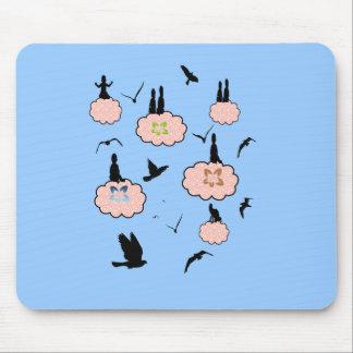 風まかせ雲 旅 マウスパッド