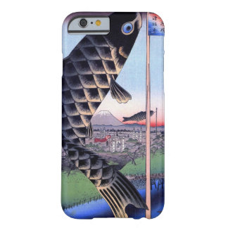 鯉幟と富士山, 広重 Carp Streamer and Mount Fuji, Hiroshige Barely There iPhone 6 Case