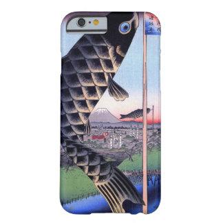 鯉幟と富士山, 広重 Carp Streamer and Mount Fuji, Hiroshige Barely There iPhone 6 Case