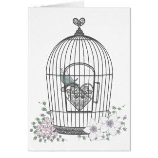 鳥かご GREETING CARD