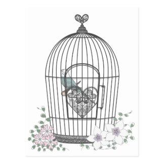 鳥かご POST CARD