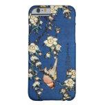 鳥と枝垂桜, 北斎 Bird and Weeping Cherry Tree, Hokusai