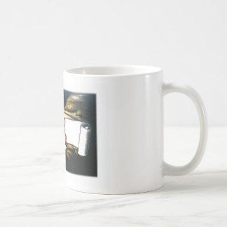 ゚ṧad ¢ℓ☹wn basic white mug