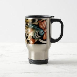 ゚ṧad ¢ℓ☹wn stainless steel travel mug