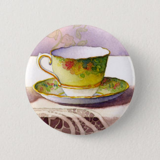 0001 Teacup on Lace Button