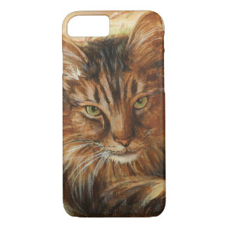 0005 Cat on Pillow iPhone 7 Case
