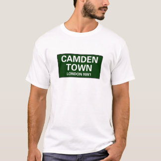 000 STREET SIGNS - LONDON - CAMDEN TOWN NW1 T-Shirt