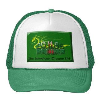000k052RLH8, The Jamaican Dragon Kid Mesh Hat