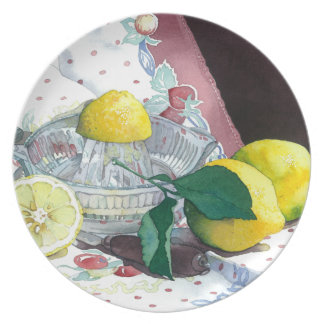 0014 When Life Gives You Lemons Plate