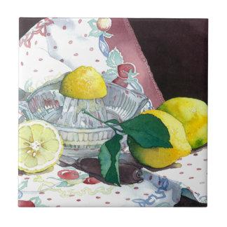 0014 When Life Gives You Lemons Tile