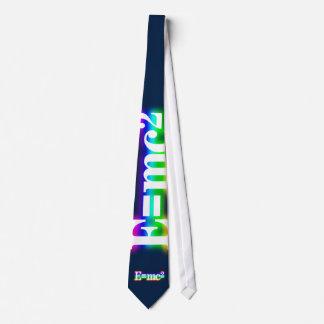 (001:03) Colorful Glowing E=mc2 - Dark Blue Tie