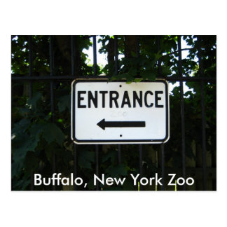 001, Buffalo, New York Zoo Postcard