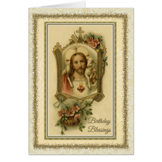 0030 Religious/Catholic Birthday Card