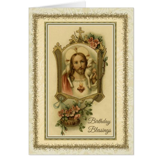 0030 Religious/Catholic Birthday Card