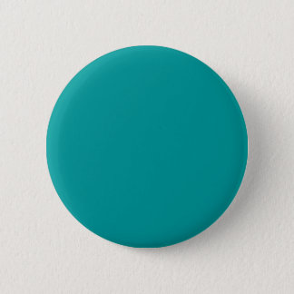 009999 Solid Color Turquoise Background Template 6 Cm Round Badge