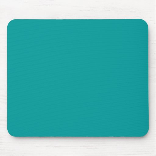009999 Solid Color Turquoise Background Template Mouse Pads