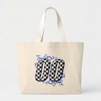00 auto racing number bag