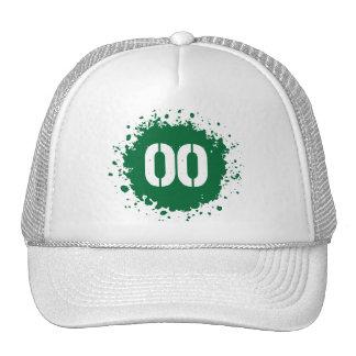 #00 Green Splatter Cap