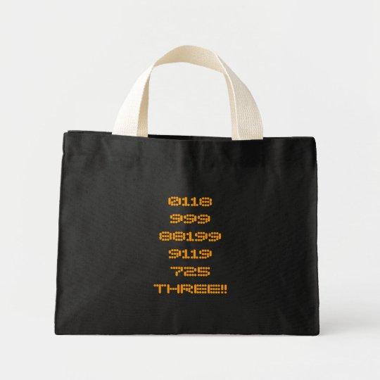 0118999881999119725THREE!! Bag