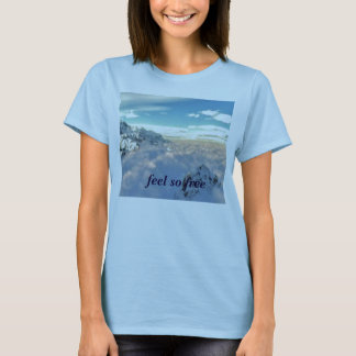 01616_overview, feel so free T-Shirt
