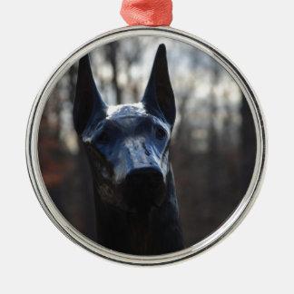 0166 Service Dog.JPG Christmas Ornament