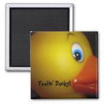 019, Feelin' Ducky! Refrigerator Magnet