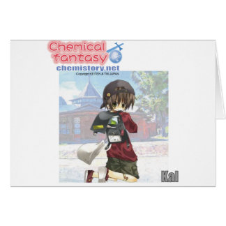 019 Kal of Chemical fantasy Greeting Card