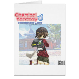 019 Kal of Chemical fantasy Greeting Card