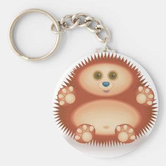 01 Hedgehog Key Ring