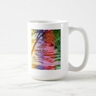 01 Mug - Original Art & Haiku - ageless stones