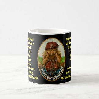 01. One of Swords - Sailor tarot Coffee Mug