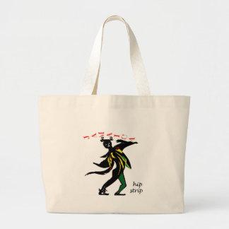 01jd Hip strip montego bay jamaica Large Tote Bag
