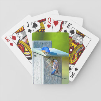 020 Bluebird Nesting Playing Cards