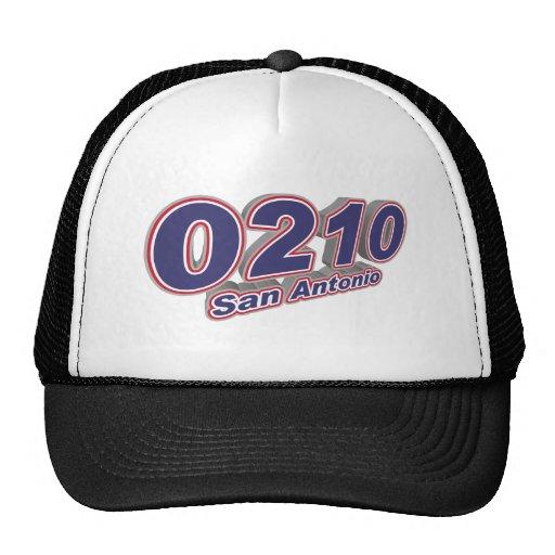 0210 San Antonio Mesh Hat