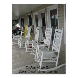 022, Rocking Chair RowEdisto Beach, South Carolina Postcard
