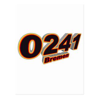 0241 Bremen Postcard