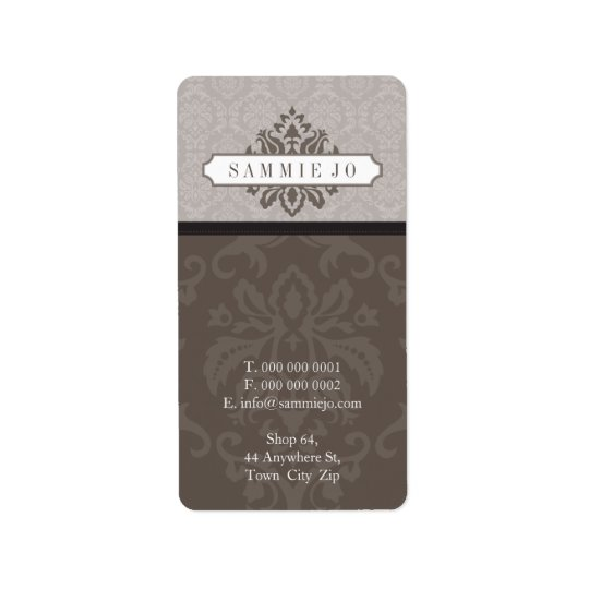 027 Sammie Jo :: LOGO ADDRESS LABEL
