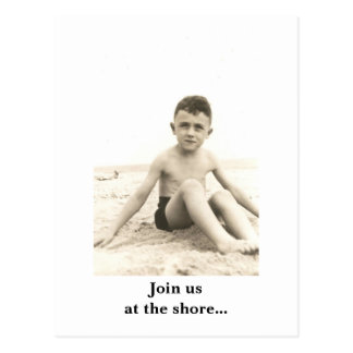02 (2), Join us at the shore... - Customized Postcard