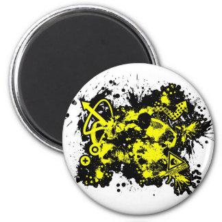 02 Design 1 6 Cm Round Magnet
