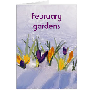 02 February greeting Card
