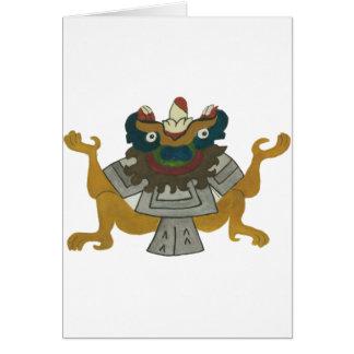02.Tlaltecuhtli - Mayan/Aztec Creator good Card