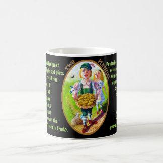 02. Two of Pentacles - Alice tarot Coffee Mug