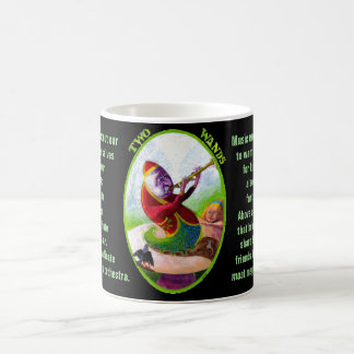02. Two of Wands - Alice tarot Coffee Mug