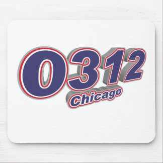 0312 Chicago Mouse Mat